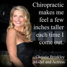celebrities_that_support_chiropractic_christie_brinkle