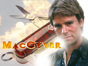 Macgyver can't fix this one, but you sure can help yourself!