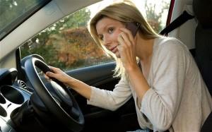women talking on phone